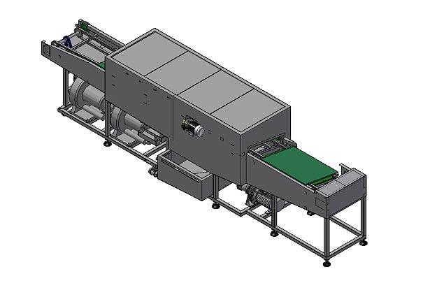 Machines à laver les plateaux industriels