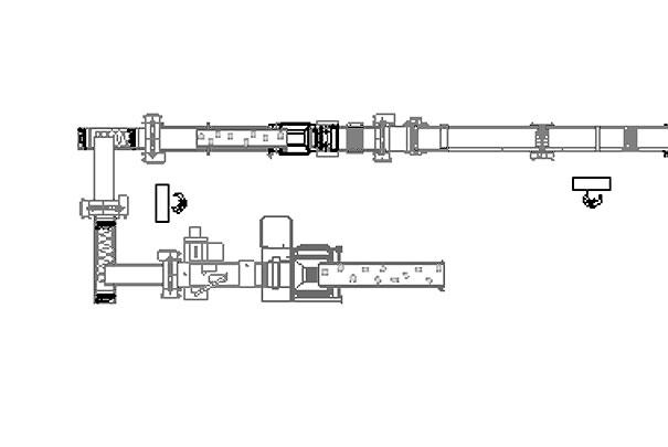 Laminato continuo+Multiprodotto linea automatica